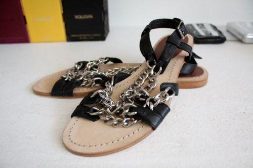 Madison Harding Chain Sandals