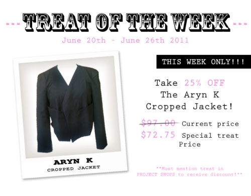 Aryn K Cropped Jacket