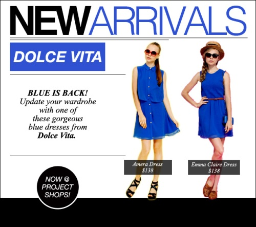 NEW ARRIVALS_DOLCE_VITA
