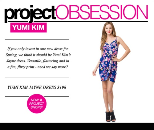 PROJECT OBSESSION - YUMI KIM