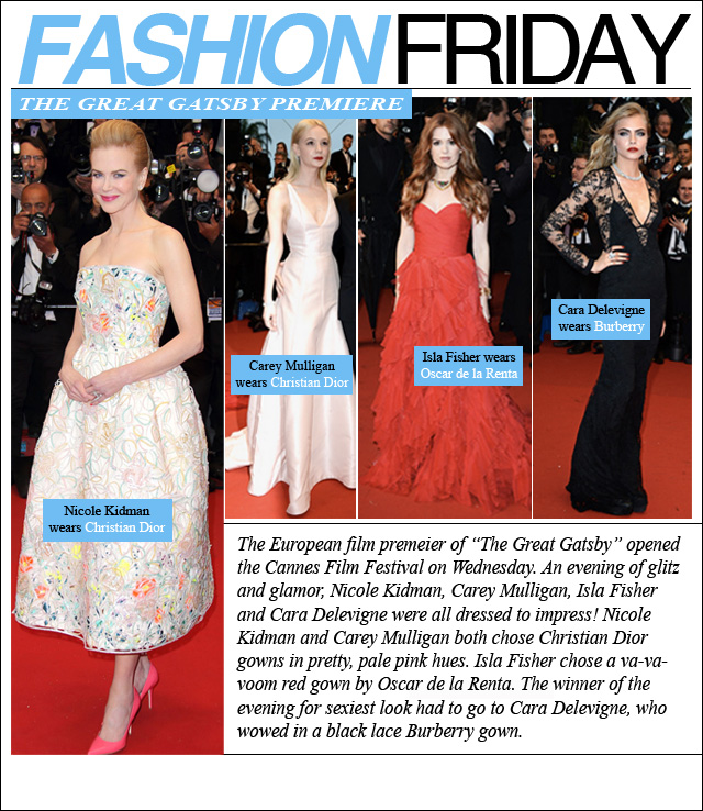 FASHION FRIDAY- Great Gatsby Premier