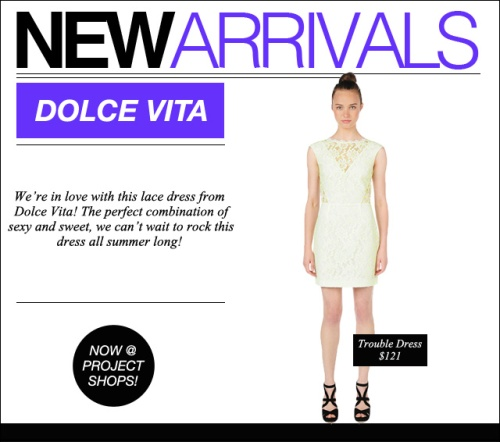 NEW ARRIVALS_Dolce Vita