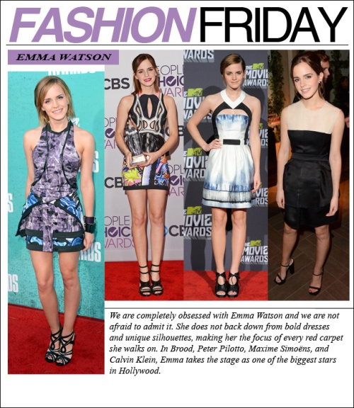 FASHION FRIDAY- emma watson )