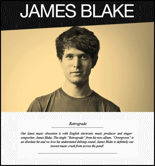 james-blake-music-monday