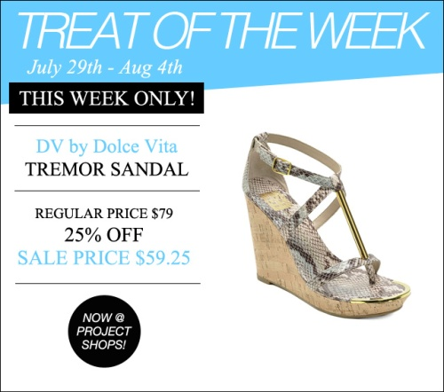 Treat of the Week-Dolce Vita Tremor
