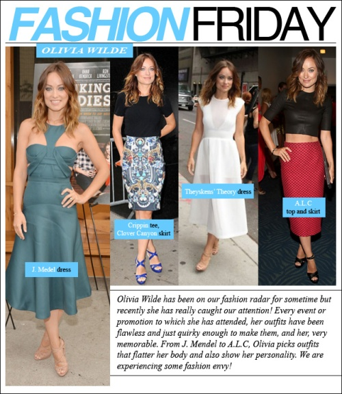 fashion friday olivia wilde