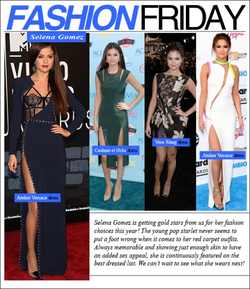 fashion friday selena gomez