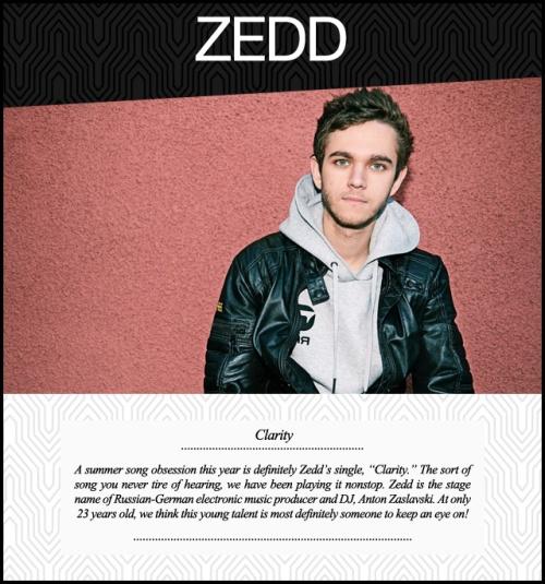 Music Monday Zedd