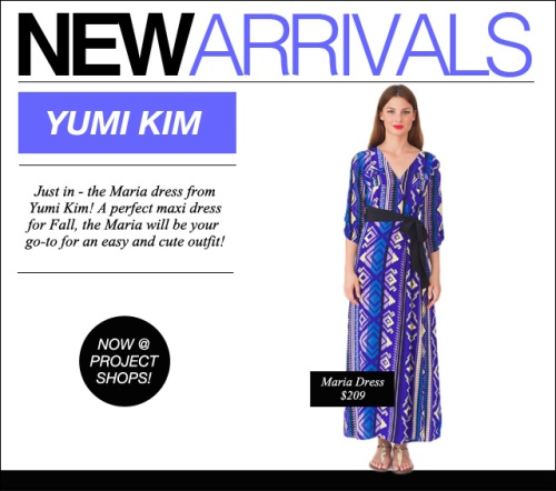 new arrivals yumi kim maria dress