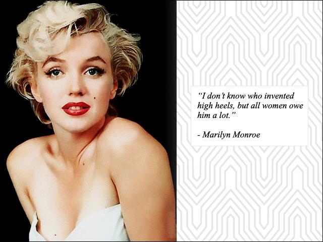 Marilyn Monroe I Love Project