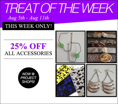Treat of the Week-Accessories