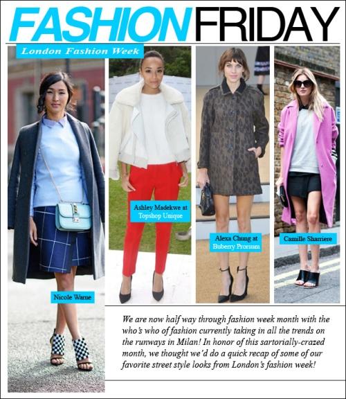 fashion friday london fashion week