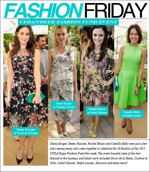 fashion friday cfda-vogue fashion fund